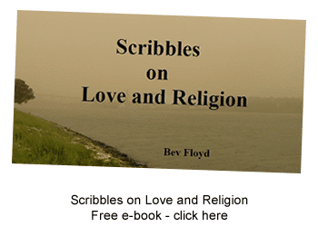 Scribbles on Love and Religion by Bev Floyd